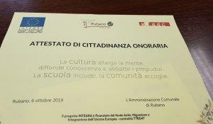 INTEGRA PROJECT MEETS THE VICE MAYOR OF RUBANO – STEFANIA DONEGA